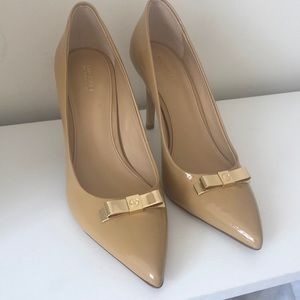Micheal Kors patent leather heels